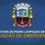 Prefeito Cristiano Marião decreta Situação de Emergência em Pedro Leopoldo