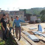 Marião anuncia início das obras na quadra do Romero de Carvalho