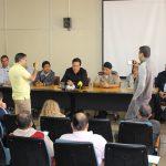 Greve dos caminhoneiros pauta coletiva de imprensa na Prefeitura