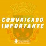 Os serviços públicos municipais nesta segunda-feira (2)