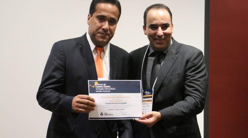 Prêmio Cidades Digitais: Instalação de Parquímetro em PL é considerado Projeto inovador