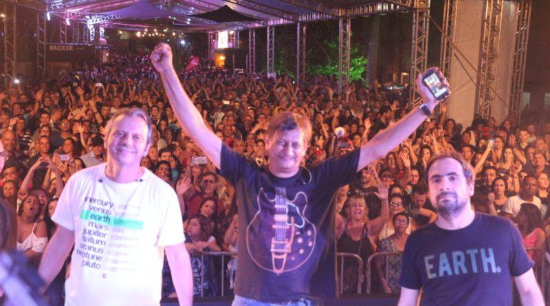 Festival de Luz reuniu milhares de pessoas na praça da Estação
