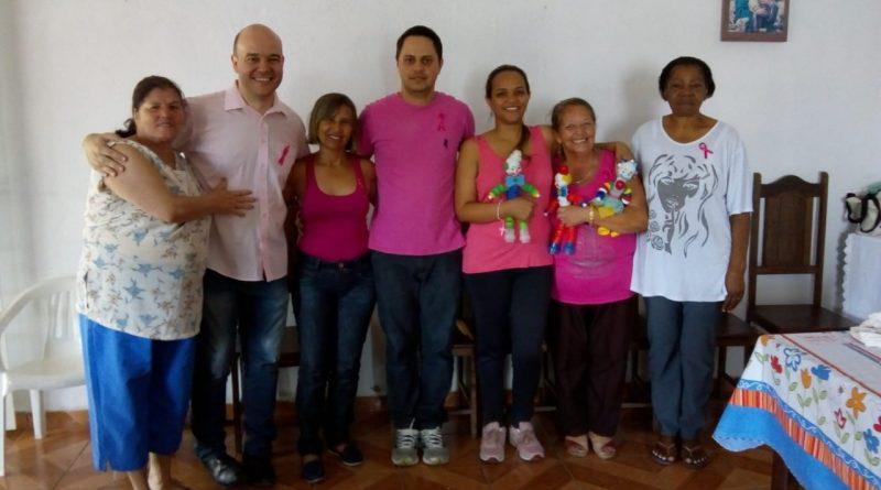 Unidades de Saúde de Pedro Leopoldo recebem  diversas ações de conscientização sobre o Outubro Rosa