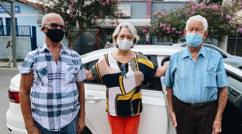 Pedro Leopoldo começa a vacinar idosos acima de 80 anos