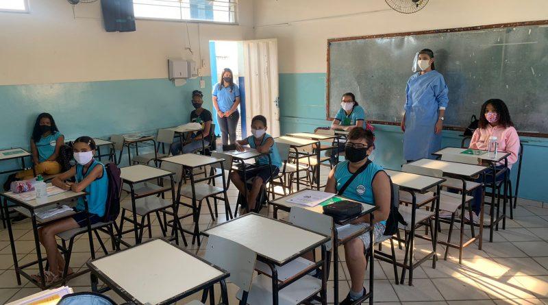 Volta às aulas: Todas as escolas de Pedro Leopoldo devidamente adaptadas estão liberadas para o retorno das aulas presenciais