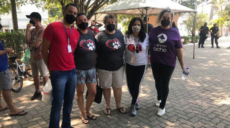 Prefeitura promove feira de adoção animal